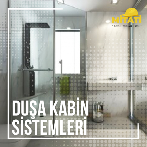 Duşa Kabin Sistemleri