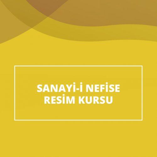 Sanayii Nefise Resim Kursu
